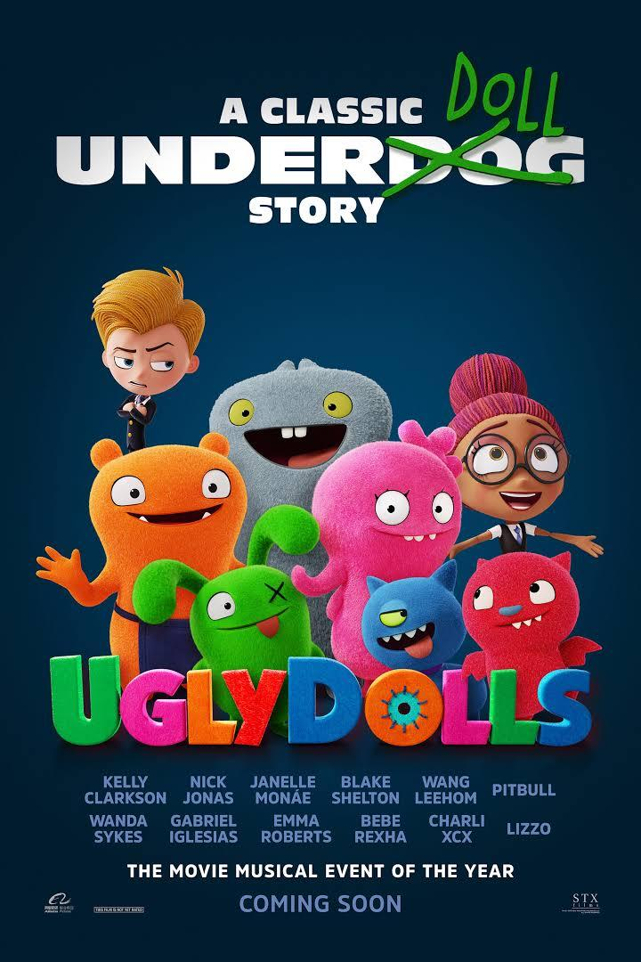Ugly Dolls Movie Poster